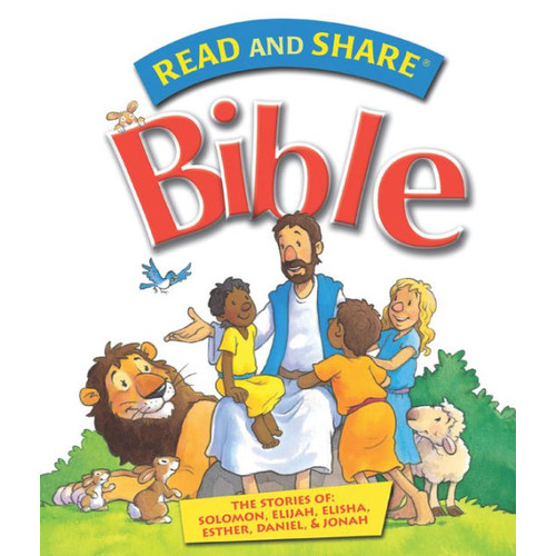 Read and Share Bible - Pack 4: The Stories of Solomon, Elijah, Elisha, Esther, Daniel, and Jonah