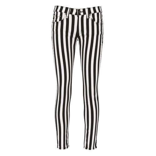RAG & BONE/JEAN Benton Stripe Capri Jeans