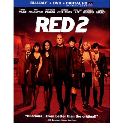 RED 2 (2 Discs) (Includes Digital Copy) (UltraViolet) (Blu-ray/DVD)