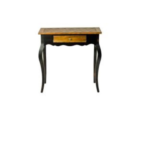 Safavieh Cooper Oak and Java Storage Console Table
