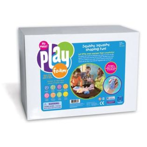 EDUCATIONAL INSIGHTS Playfoam Class Pack 16 Super-Sized Pieces in 8 Colors