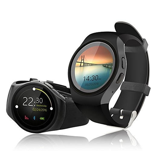 Android SmartWatch by Indigi | Pedometer & Heart Rate Sensor + Phone functions on your wrist!