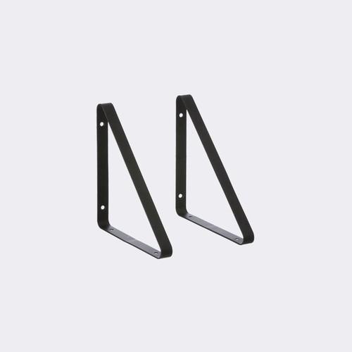 Metal Shelf Hangers design by Ferm Living - Black