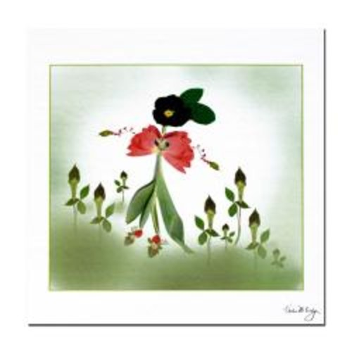 Kathie McCurdy 'Happy Fairy' Gallery-wrapped Canvas