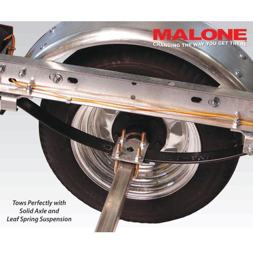 Malone MicroSport 2-Boat SaddleUp Pro Kayak Trailer Package [Gray]