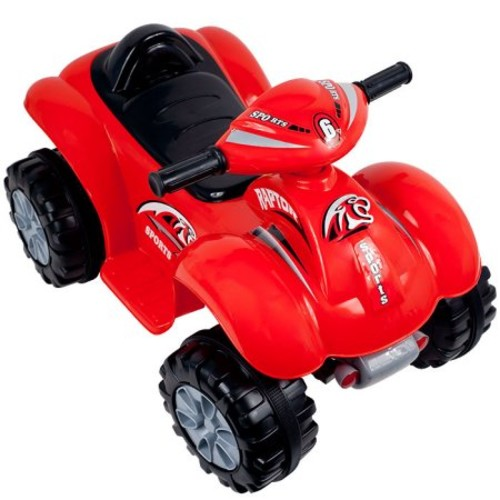Ride On Toy Quad ATV, Battery Powered Dinosaur Four Wheeler Toy With Sound Effects by Lil' Rider Toys for Boys and Girls 2 - 4 Year Olds