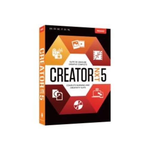 Roxio Creator NXT - (v. 5) - box pack - 1 user - DVD (mini-box) - Win - Multi-Lingual