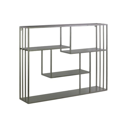Urban Trends Collection 31.5 in. x 23.75 in. 1 Metal Wall Shelf