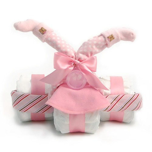 Nikkis Tricycle Diaper Gift For Girls