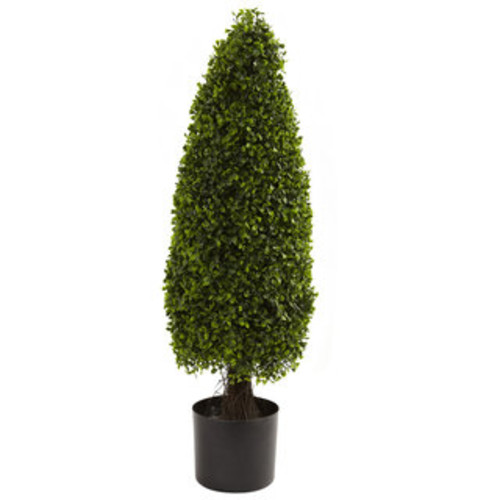 Uttermost Artificial Plants Boxwood Cone Topiary