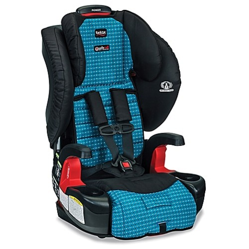 BRITAX Pioneer (G1.1) XE Series Harness-2-Booster Seat with Mat and Shades in Oasis
