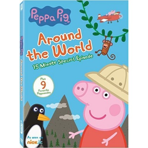 Peppa Pig: Around The World (DVD)