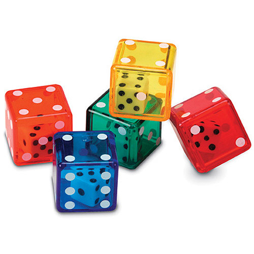 Learning Resources Dice in Dice, 72 Pieces