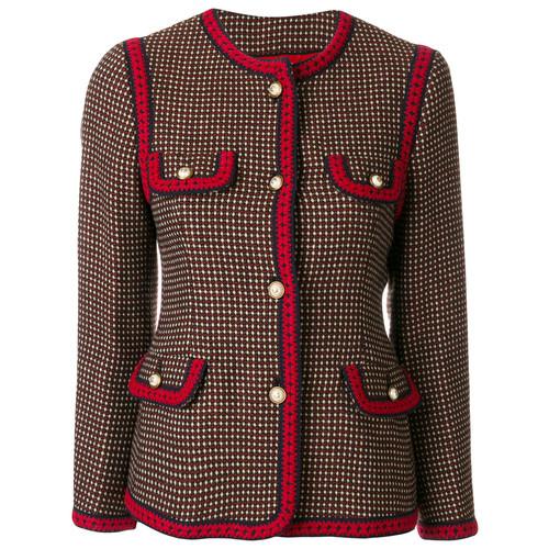 GUCCI Polka Dot Pattern Jacket