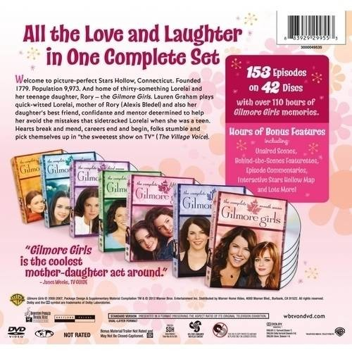 Gilmore Girls: The Complete Series Collection [41 Discs] (DVD)