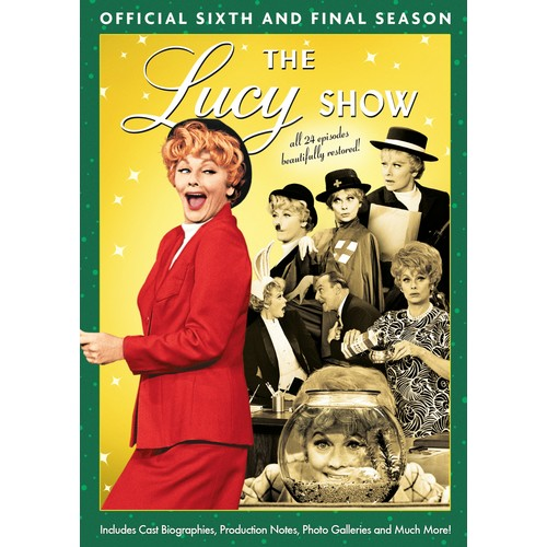 The Lucy Show: The Official Sixth and Final Season [4 Discs] [DVD]