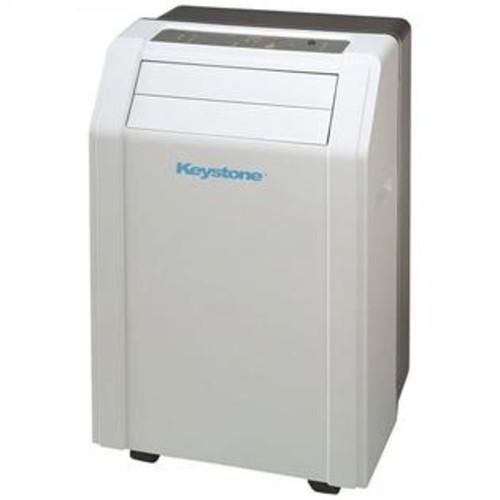 Keystone KSTAP12A 12,000 BTU 115-Volt Portable Air Conditioner with Follow Me LCD Remote Control
