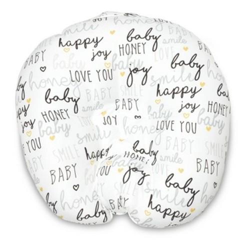 Boppy Hello Baby Newborn Nursing Pillow and Positioner - White