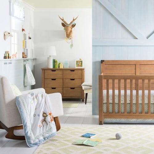 Nursery Works Sleepytime Rocker - Charcoal Walnut