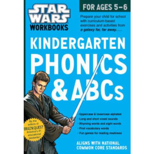Star Wars Workbook: Kindergarten Phonics!