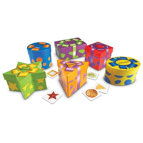 Learning Resources Shape Sorting Presents, 96 Pieces