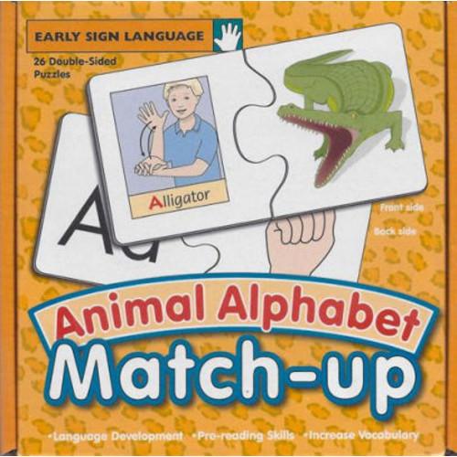 Animal Alphabet Match-Up (Puzzle)