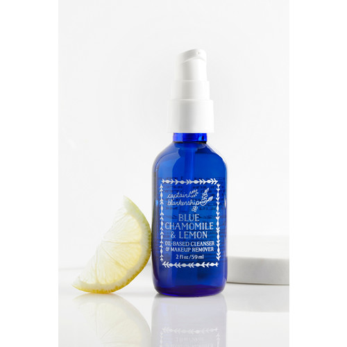 Blue Chamomile & Lemon Oil Based Cleanser and Makeup Remover [REGULAR]