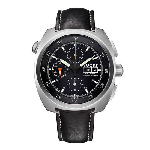 Air Defender Chronograph Watch, Black