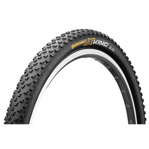 Continental X-King ProTection + BlackChili Mountain Bike Tire - 27.5x2.2, Folding