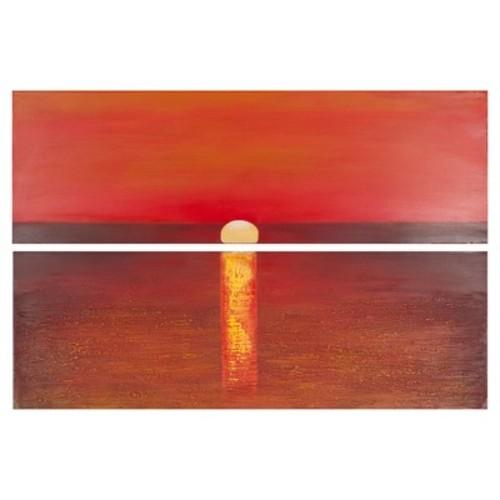 Safavieh Sanibel Sunset Diptych Wall Art
