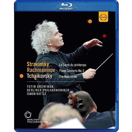Stravinsky: Le Sacre du Printemps; Rachmaninov: Piano Concerto No. 3; Tchaikovsky: The Nutcracker [Video] [Blu-Ray Disc]