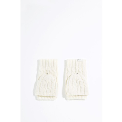 PERSHORE FLIP TOP CABLE MITTENS