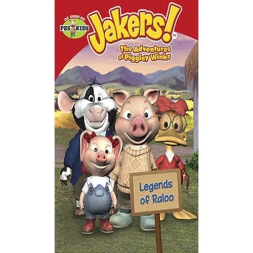 Jakers! The Adventures Of Piggley Winks - Legends Of Raloo