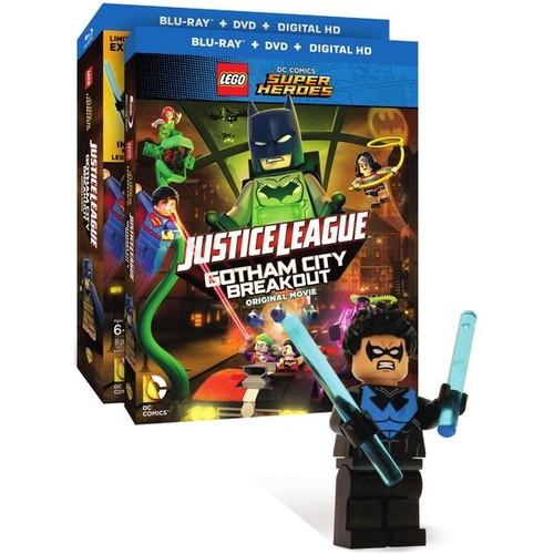 LEGO DC Comics Super Heroes: Justice League: Gotham City Breakout (Blu-ray Disc)