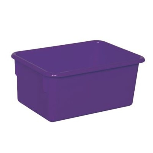 Wood Designs Stackable Cubby Tray; Purple