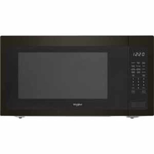 Whirlpool 2.2 cu. ft. Countertop Microwave with 1200-Watt Cooking Power - Black Stainless