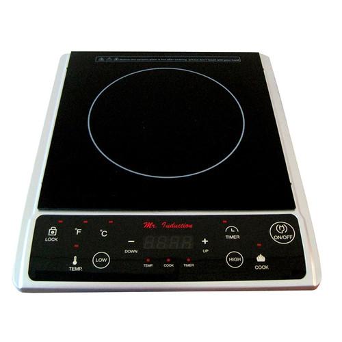 Sunpentown Cooktops, Burners, & Hot Plates Silver 1300-watt Induction Cooktop