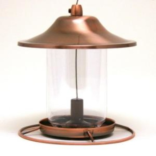 Perky-Pet Copper Panorama Bird Feeder