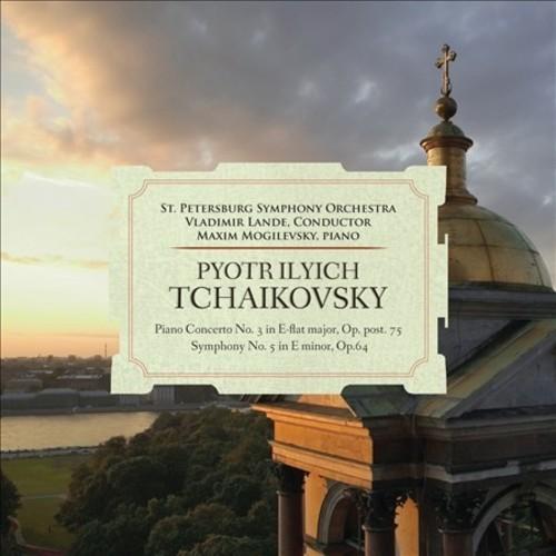 Tchaikovsky: Piano Concerto No. 3, Op. 75; Symphony No. 5, Op. 64 [CD]