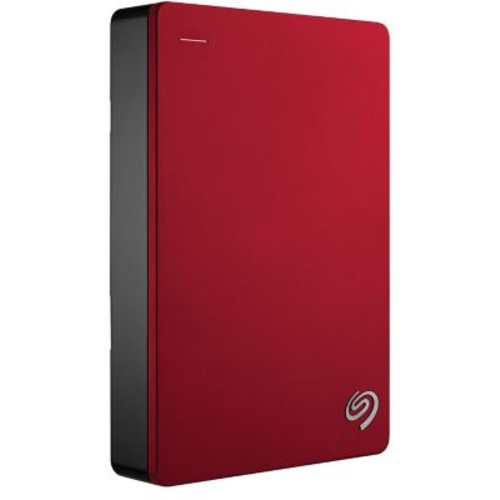Seagate Backup Plus 4TB USB 3.0 External Portable Hard Drive, Red