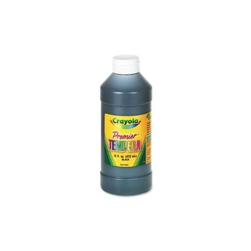 Binney & Smith Crayola(R) Premier Tempera Paint, Black