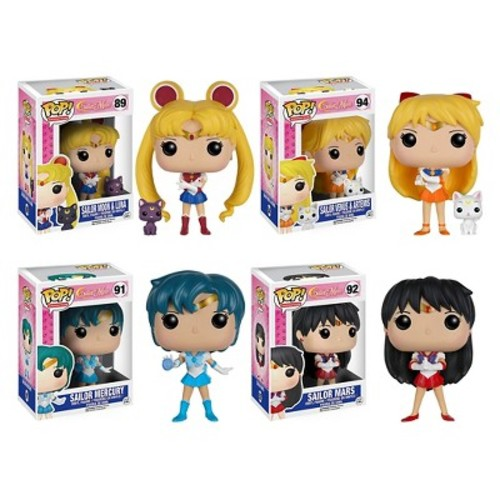 Funko - Sailor Moon Collectors Set POP! Vinyl Figures