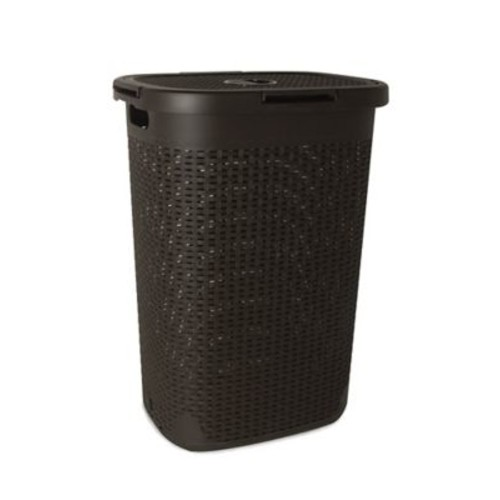 Superior Performance Palm Luxe Laundry Hamper; Brown