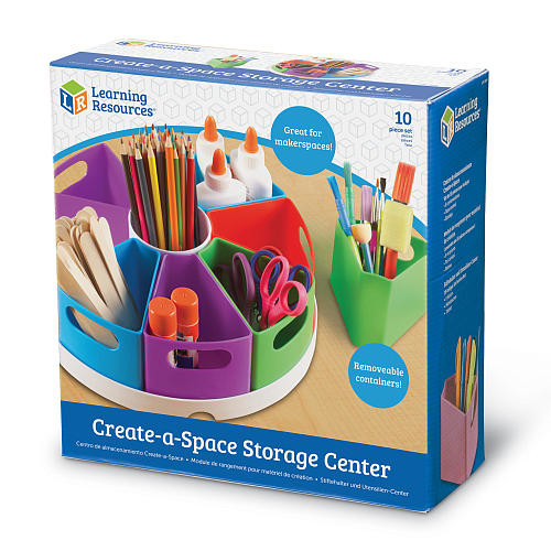 Learning Resources Create-a-Space Storage Center - 10 Piece
