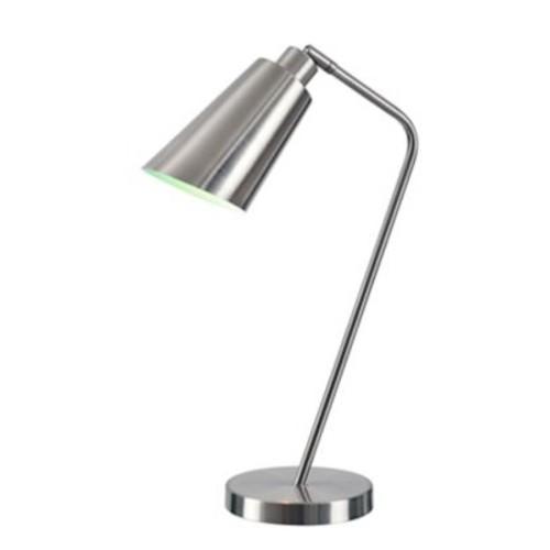 Kenroy Home Incandescent Desk Lamp Brushed Steel Finish (32972BS)