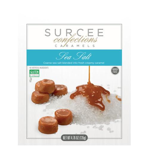 SURCEE CARAMELS - SEA SALT