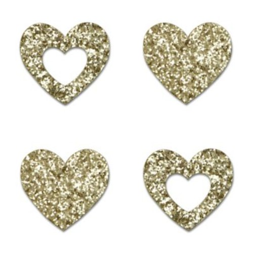 Little Haven 4-Piece Heart Letter Embellishment Set