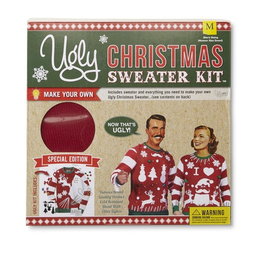Unisex Ugly Christmas Sweater Kit [Fit : Men's]