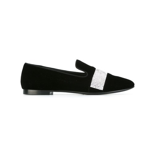 GIUSEPPE ZANOTTI DESIGN Crystal Embellished Slippers