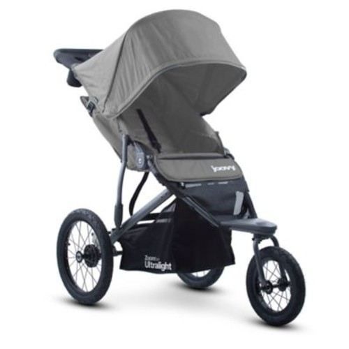 Joovy Zoom 360 Ultralight Jogging Stroller in Charcoal
